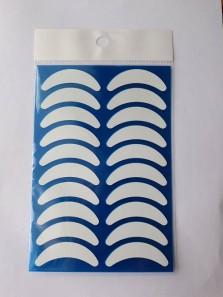Фиксаторы виниловые для нижних ресниц (синий пластиковый лист)